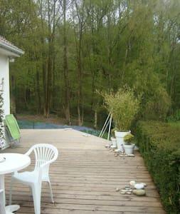 Grande maison au calme pour famille proche Rouen - Roncherolles-sur-le-Vivier