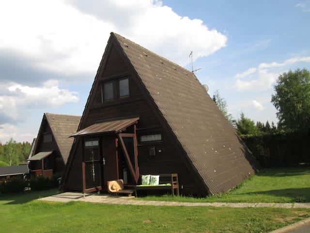 Ferienhaus am See im Fichtelgebirge