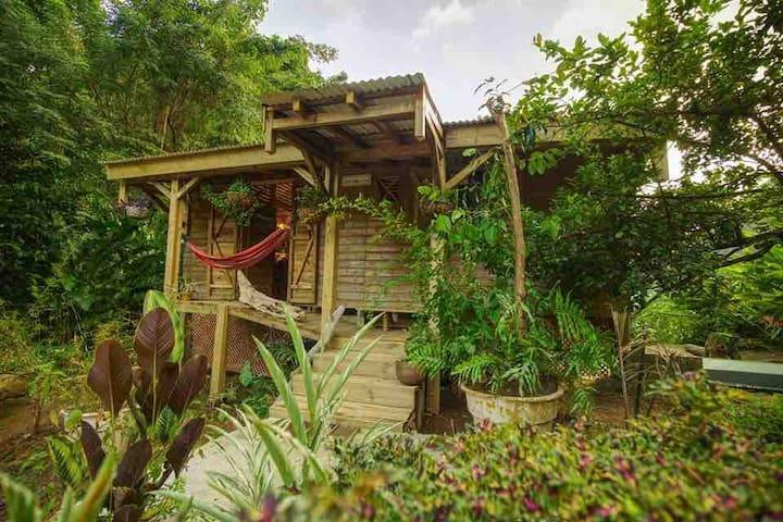 Sizo Wooden Treehouse Cottage