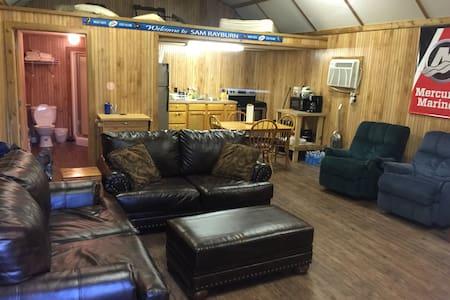 Lake Sam Rayburn Fishermens Getaway Cabin