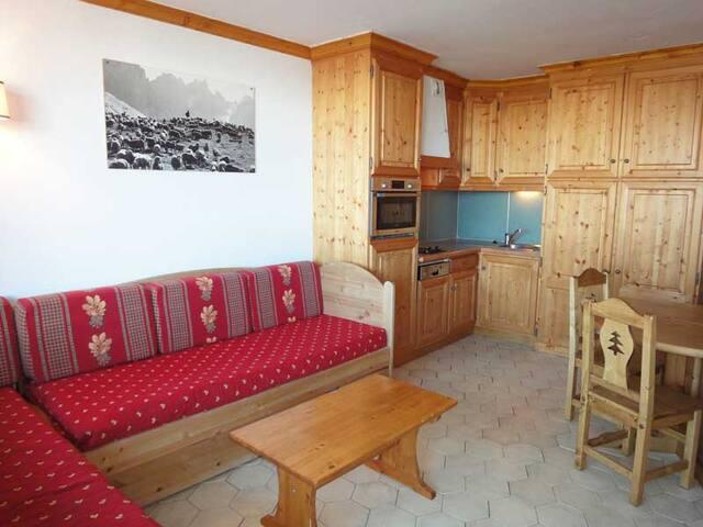 PS0812 - VERY NICE STUDIO LABEL MERIBEL, SKI IN & SKI OUT - MERIBEL MOTTARET - Apartamento