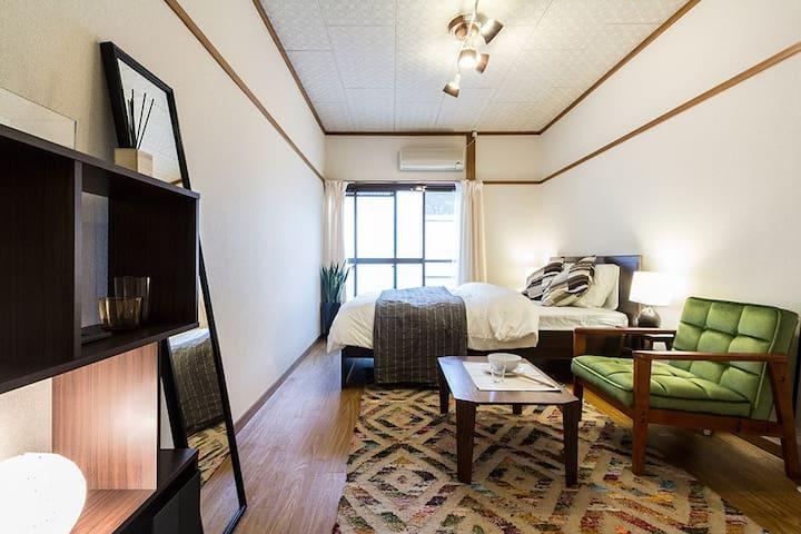 2 min to Shimokitazawa Sta! Homey & Clean Apt.2 - Setagaya-ku - Lägenhet