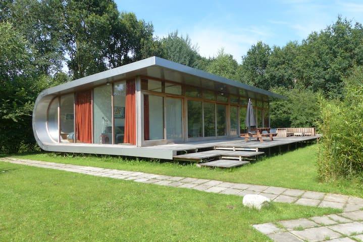 Ruime vakantiewoning, Noordwolde - Noordwolde - Houten huisje