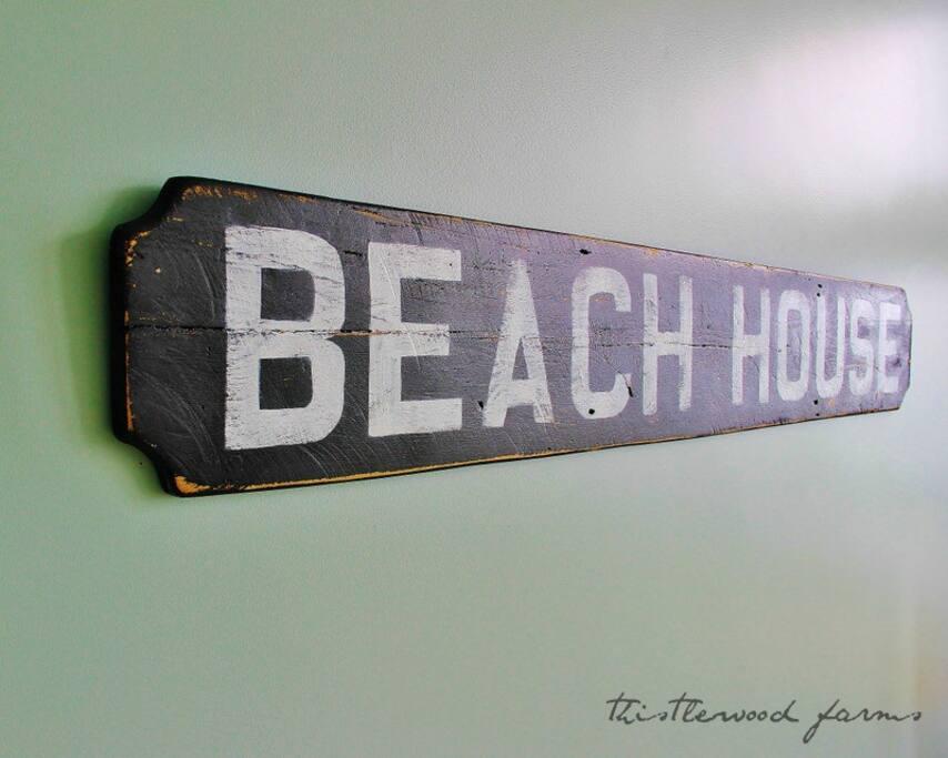 Ah, the beach house!
