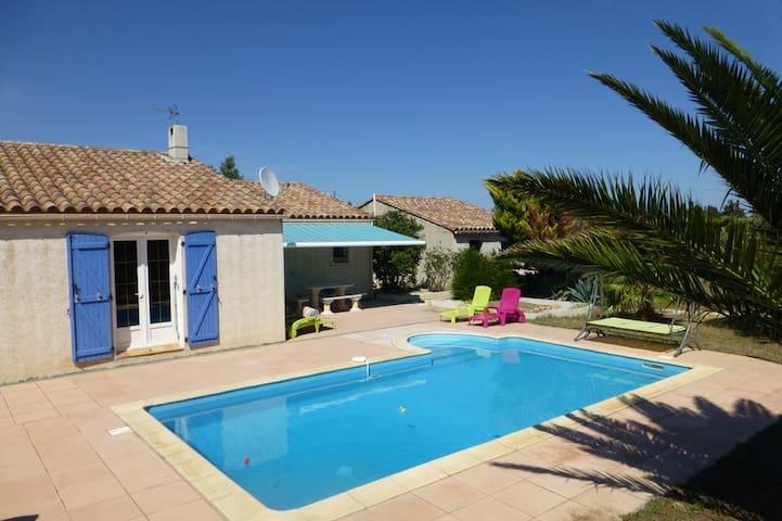 Villa Languedoc piscine max 7 pers 3 chambres