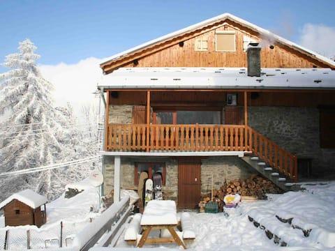 Chalet Sherlock (our lovely alpine home)