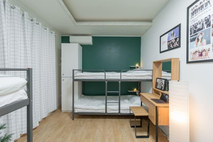 NANU KPOP - SNSD 4 PERSON ROOM WITH TERRACE - Sėoul - Maison