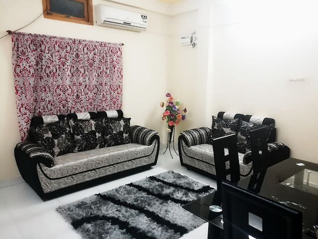 Well furnishd Centrally located  2bhk mehdipatnam