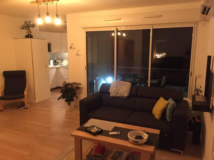 T2 rénové dans une résidence calme et sécurisée