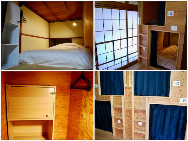 【Female only】Nomad Hostel Classic/ Semi-Private #2