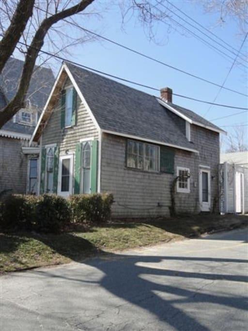 Cottage from Bradford street.