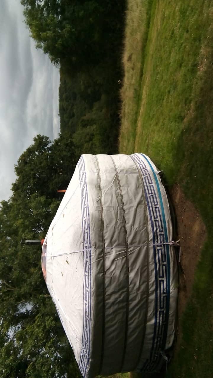 Devon Yurt, A slice of Devon at Bowacre.
