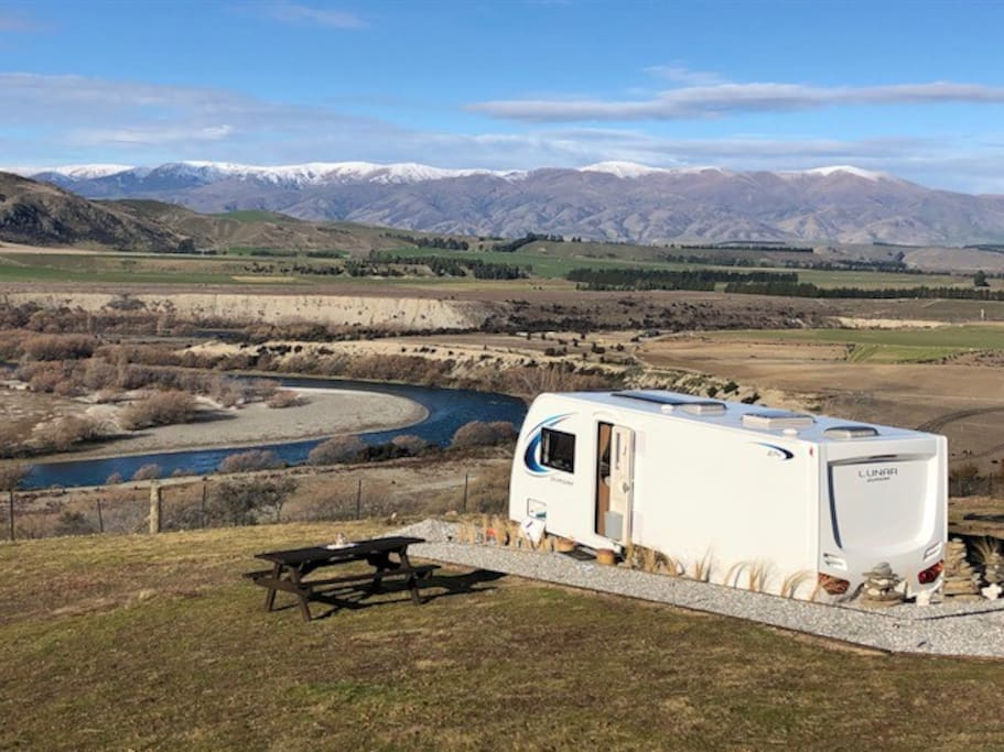Blue Riverview New Luxury Caravan