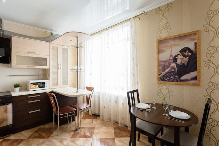 Апартаменты на Ленинградской 81 - Vologda - Apartment