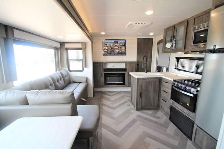 Brand New Stunning 2021 Family Travel Trailer