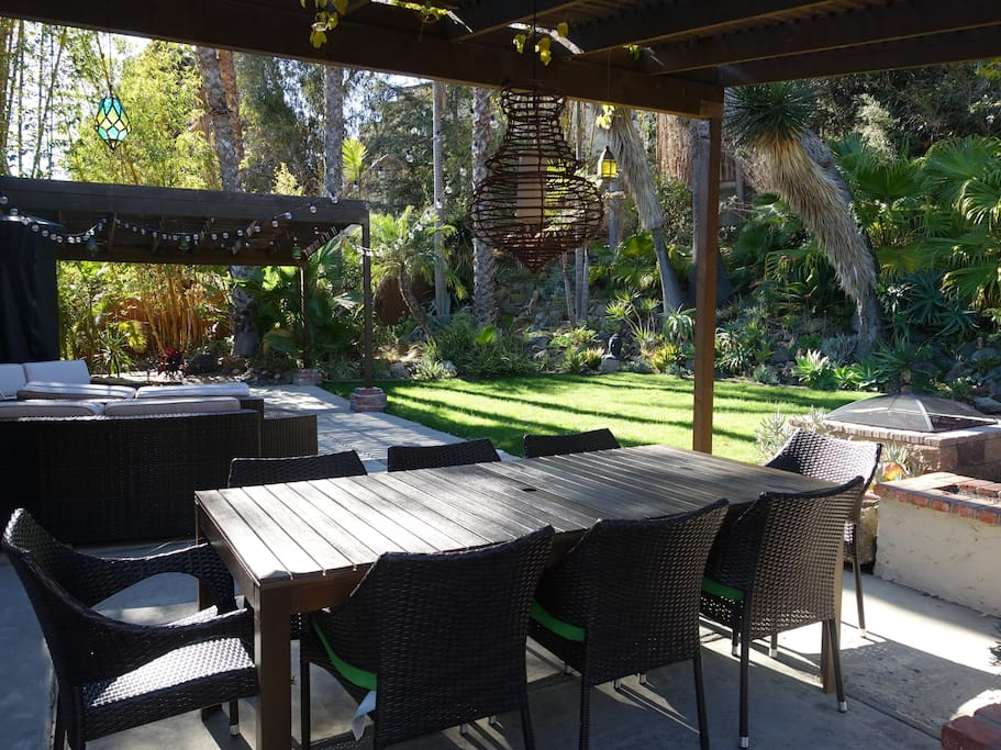 Outdoor dining all year round