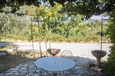 Beautiful apartment with pool in Drôme Provençale