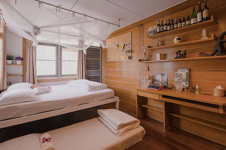 Privater room for 3 with Balcony (Free Breakfast). - Chom Phon - Talo