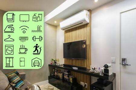VIP - confortável apartamento 1 quarto