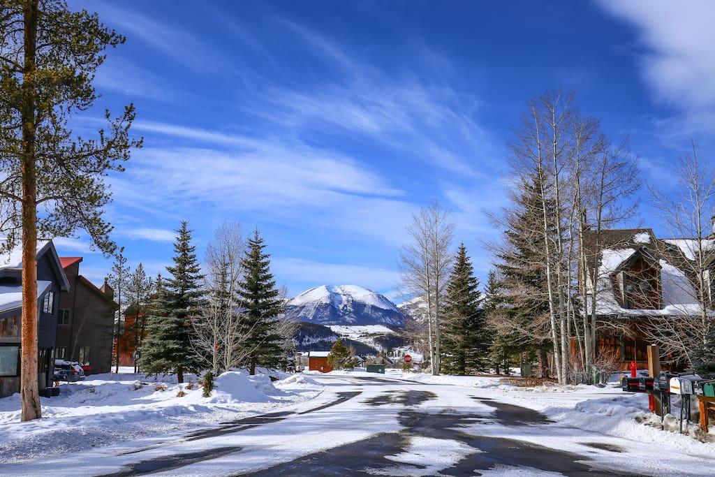 Buffalo Mountain, your view