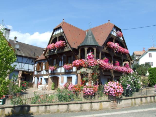 """Chambres d'hôtes """"Au Vigneron"""" - Triembach-au-Val - Hus"""
