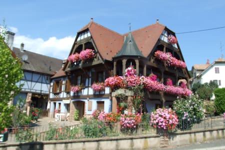 """Chambres d'hôtes """"Au Vigneron"""" - Triembach-au-Val"""