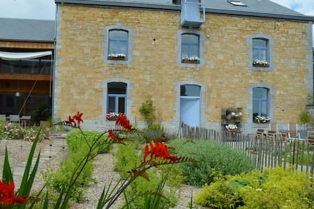 b&b aux4saules in an old square farm - Szoba reggelivel
