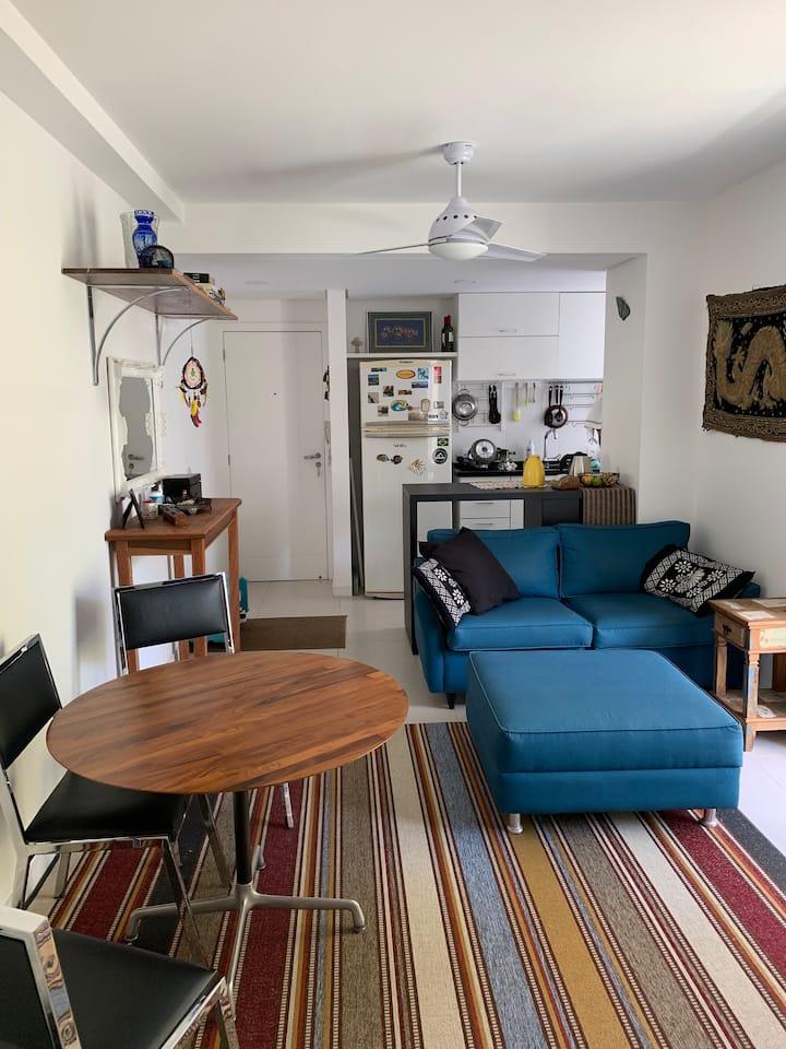 Apartamento p/ 2 casais a 200m do mar no Campeche