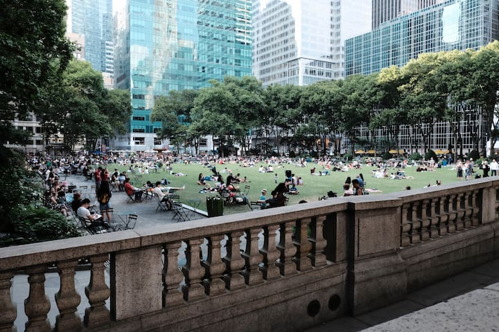 Perfect Spot Between Bryant Park and Times Square