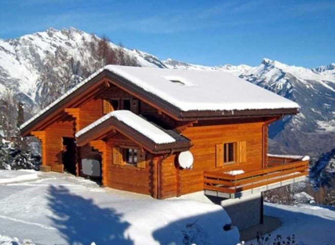 Charming chalet with a sauna ! New