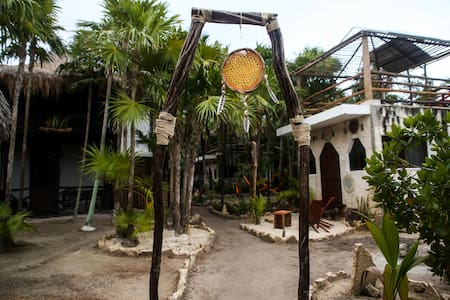 "Beach Area, Cenote, ""Venado"" Room - Tulum - Blockhütte"