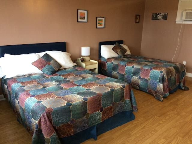 Motel room 9 near Clam Harbour Beach