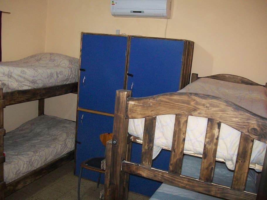 Habitacion con aire acondicionado