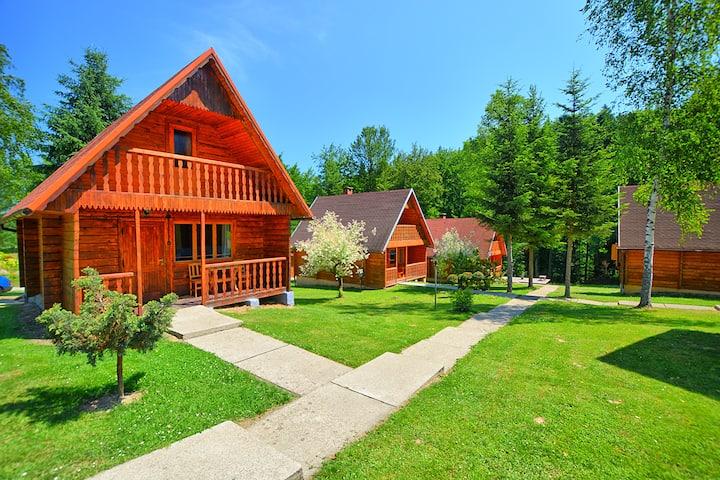 Wyjątkowe domki w Bieszczadach. Piękna lokalizacja