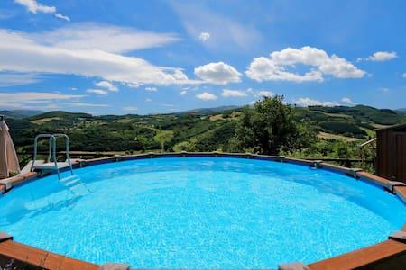 Panoramica casetta piscina privata - Haus