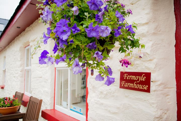 Fermoyle Farmhouse Self Catering or B&B