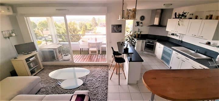 Appartement avec vue Pyrénées