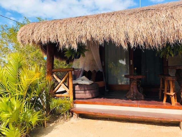 Bungalow Fridas de Punta Coco, Isla Holbox