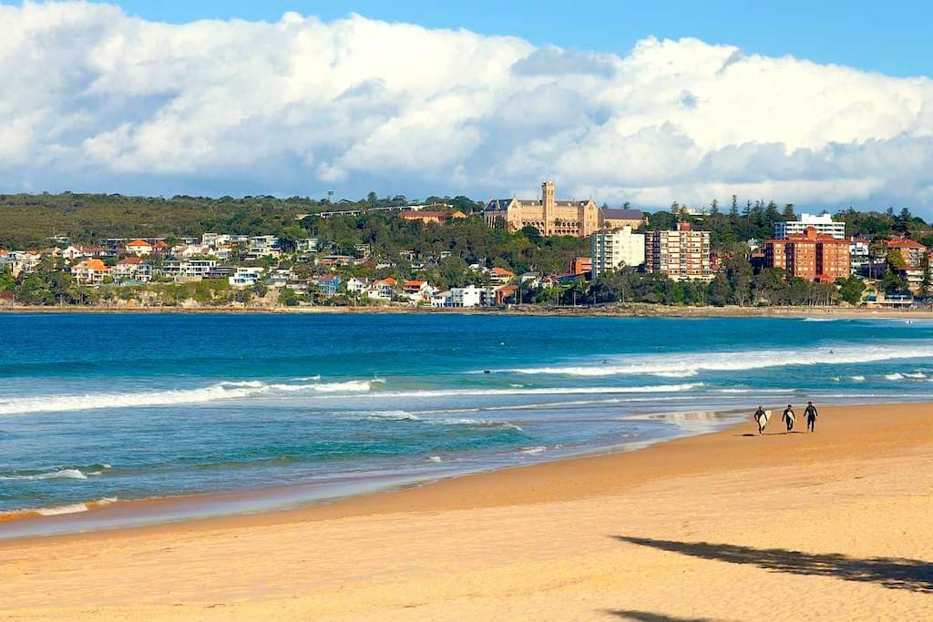 how to go to manly beach