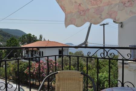 Private studio with balcony - Sporades