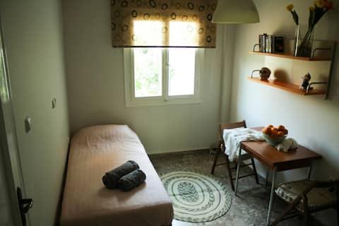 Tassos's studio apartment