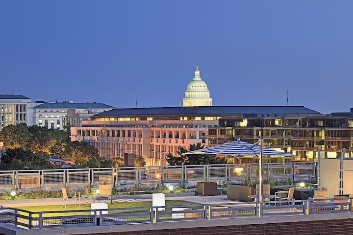 Monthly Modern Apt-H ST/Union Station/Capital Hill