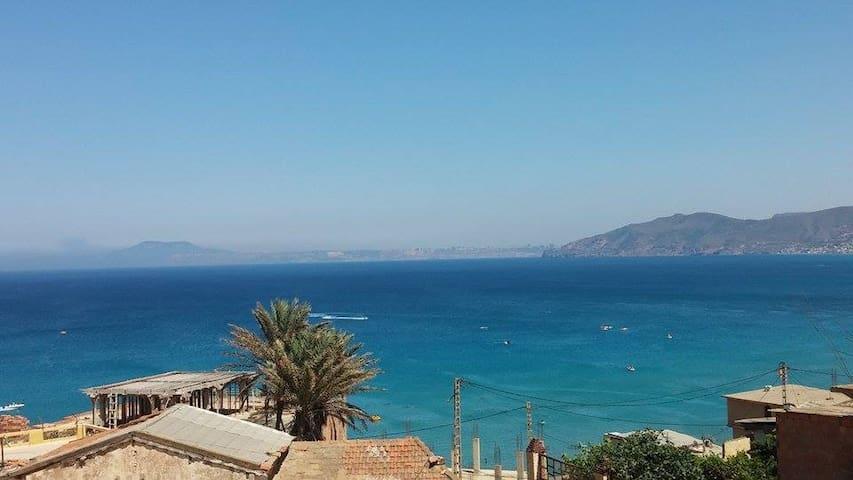 F3 neuf avec vue sur mer Cap Falcon - Aïn El Turk - Apartment
