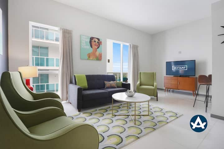 Sextant | Habitat Brickell | 1 Bedroom | Gym+Pool #2803 | 10 mins to South Beach