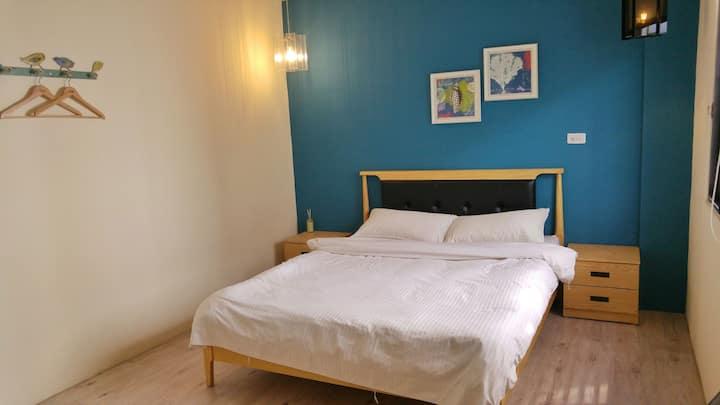 花蓮車站前藝文空間-藍霧房,優雅寧靜與機能便利的舒適環境,漫活花蓮生活。