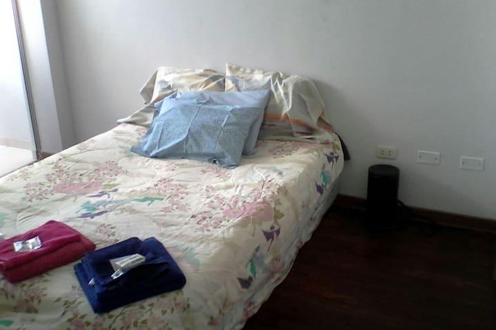 Chambre chez l'habitant a/vue 1-2p - Lima - Bed & Breakfast