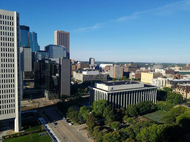 Awesome View Downtown Minneapolis