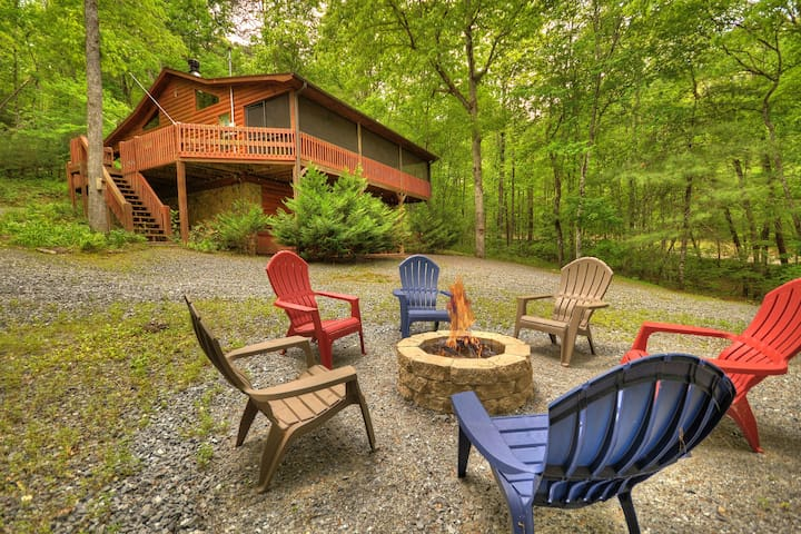 Sweetwater Escape Cozy Cabin a Fightingtown Access