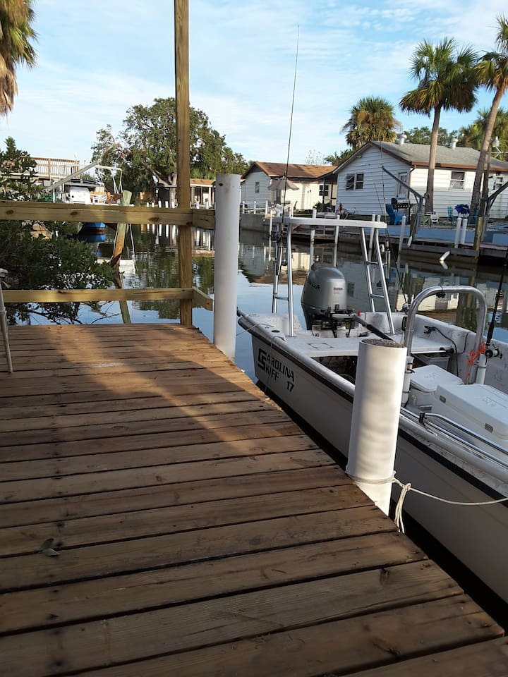 Bring your own boat!  Yards from the Intracostal Waterways