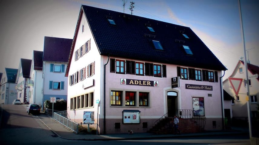Adler Heimsheim - Heimsheim - Bed & Breakfast